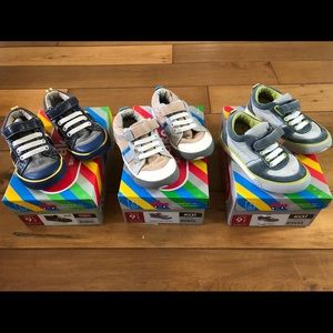 Lot of 3 See Kai Run Shoes Little Kid size 9.5